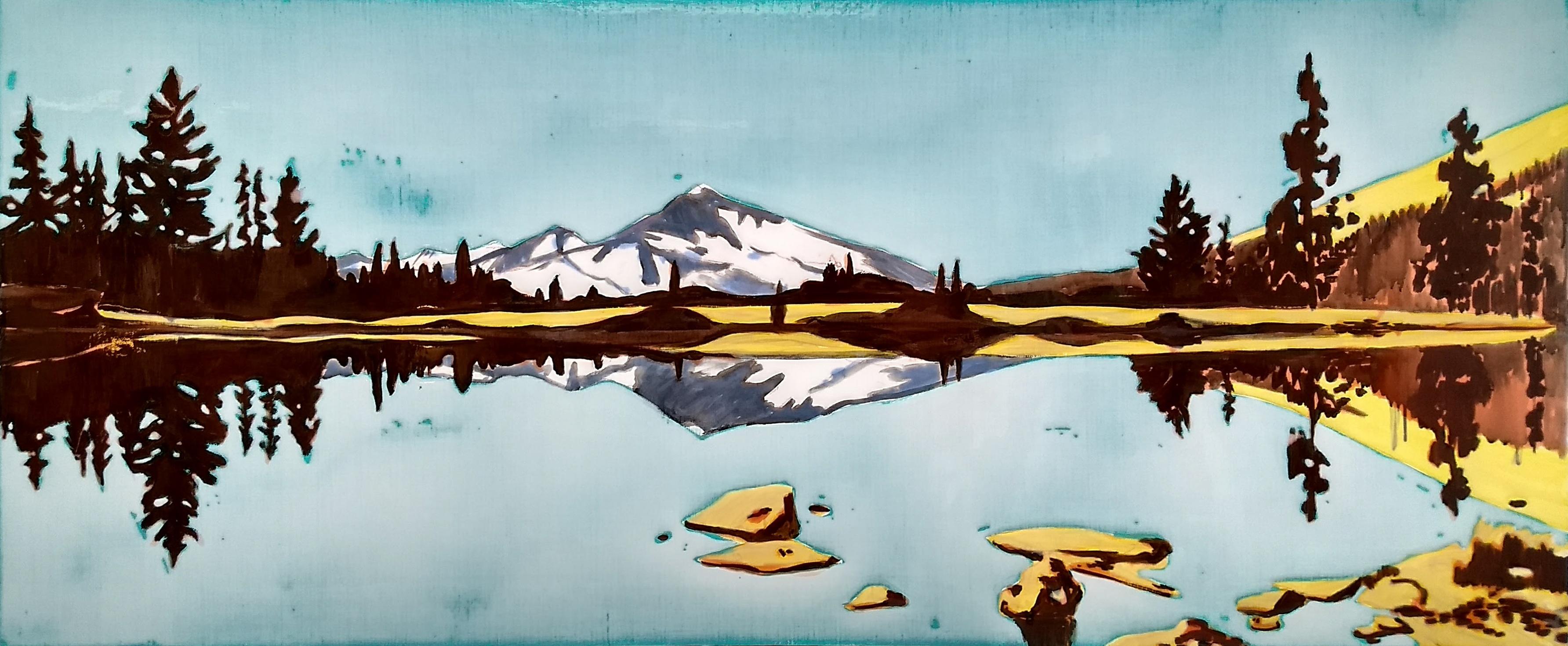 A.Terlage,Yosemeti, 150x60 cm, 2017