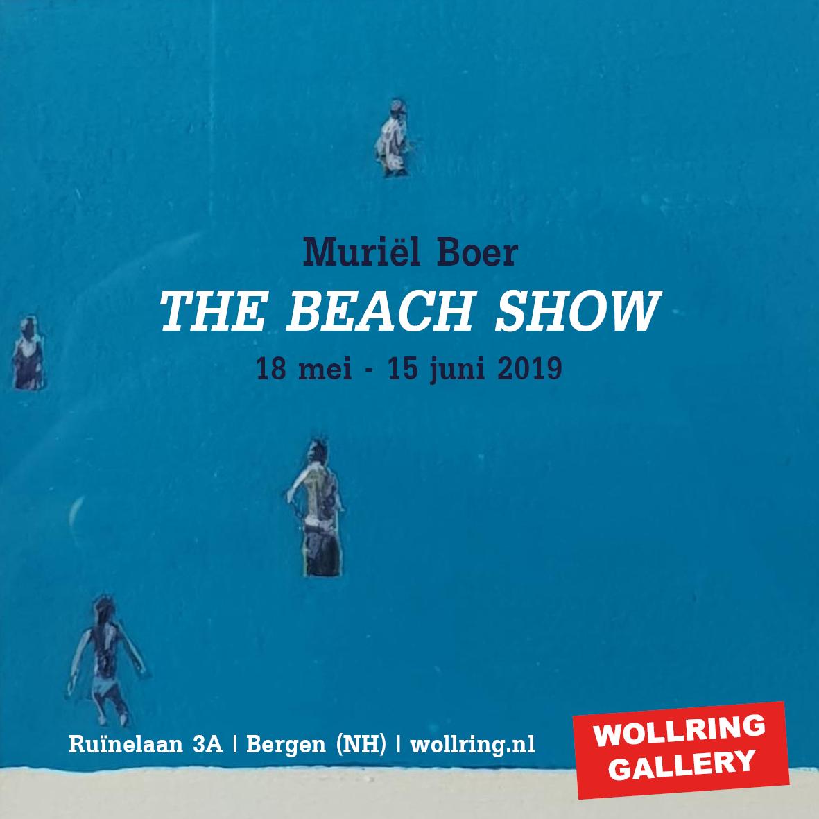 the beach show muriel boer